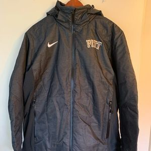 NWOT Nike Pitt University Hooded Coat Men's Size L